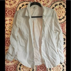 Forever 21 white button up